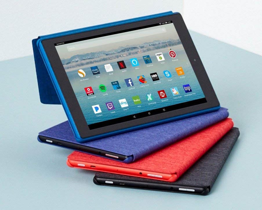 Enter The Amazon Kindle Fire HD 10 Tablet Giveaway