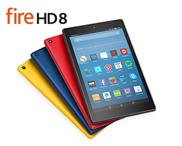 Enter For A Chance To Win An Amazon Kindle Fire HD 8 Tablet