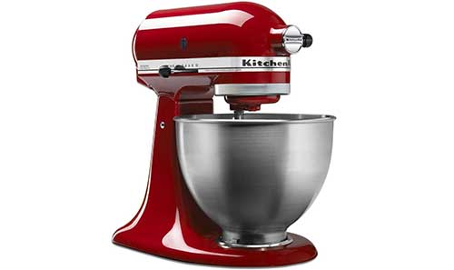 Enter For A Chance To Win A KitchenAid 4.5 Qt. Classic Red Stand Mixer
