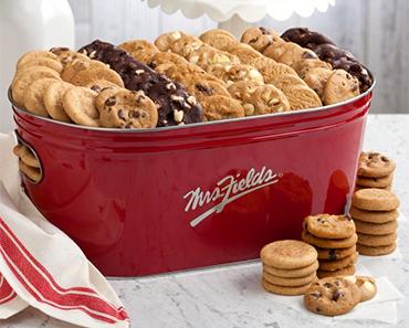 Mrs. Fields Signature Tub of Cookies