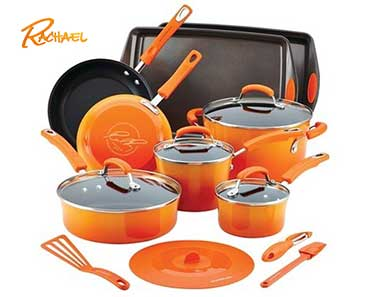 Enter To Win A Rachael Ray Hard Enamel Nonstick 16pc Cookware Set