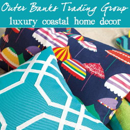 coastal decor at Outer Banks Trading Group