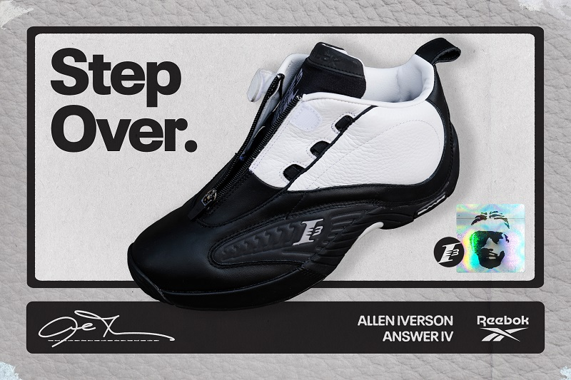ANSWER IV OG IS HERE: The Answer IV is back in its original colorway. Available on Reebok.com 6/4.