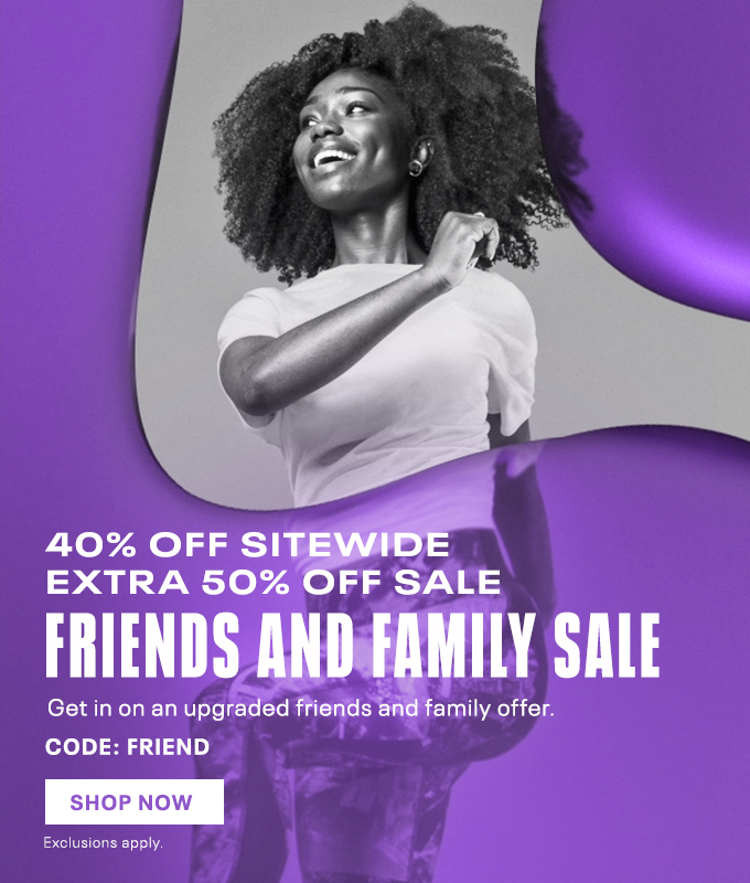 Affiliaite exclusive F&F - 40% off sitewide, 50% off sale