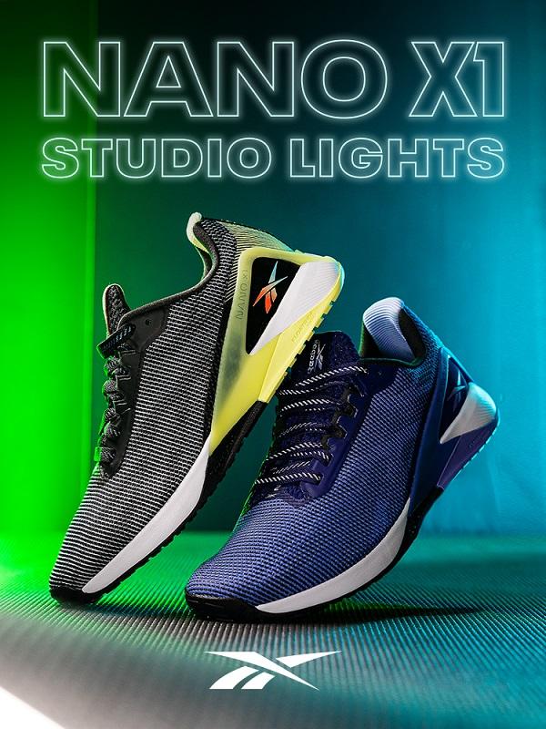 NANO X1 STUDIO LIGHTS: The women's Nano X1 that brings studio energy anywhere you are.