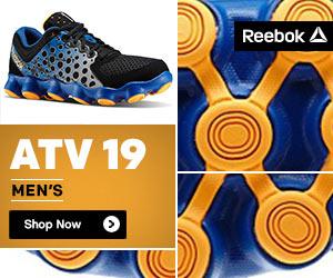 Reebok's Kids ATV19 Running Shoes