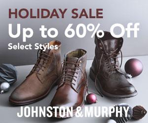 Johnston & Murphy Holiday Sale