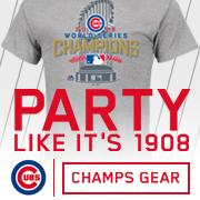 Cubs Champs Merchandise