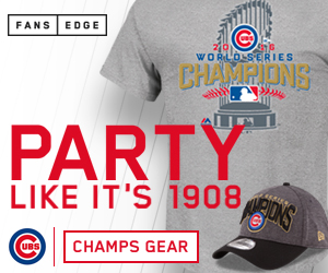 Cubs World Series Gear