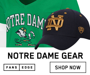 Shop Notre Dame Fighting Irish Gear at FansEdge