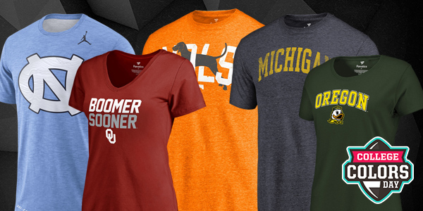 Gear up for College Colors Day at FansEdge!
