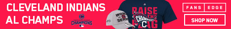 Cleveland Indians 2017 American League Champs