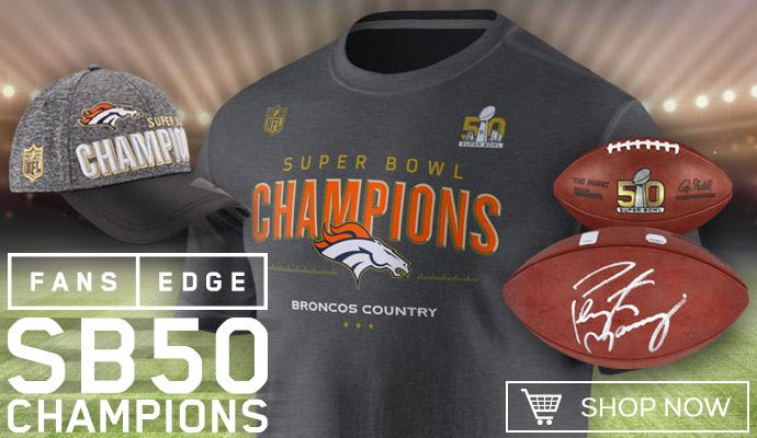 Broncos Super Bowl 50 Gear
