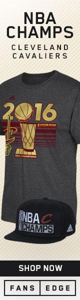 Cleveland Cavaliers 2016 NBA Championship Gear