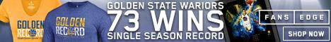 Golden State Warriors 73 Wins Merchandise