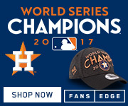 Houston Astros World Series Champs Gear