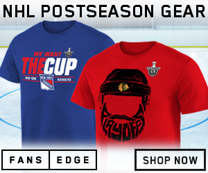 Represent your team with style and attitude with Stanley Cup Playoff Tee's from FansEdge