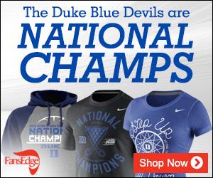 Duke Blue Devils National Championship Merchandise