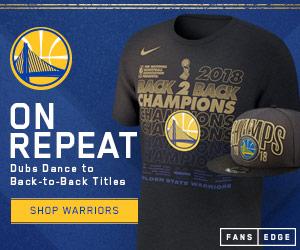 Golden State Warriors 2018 NBA Championship Gear