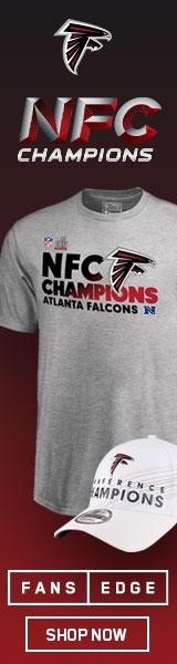 Atlanta Falcons NFC Championship Merchandise