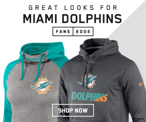 Shop for Miami Dolphins Team Gear at FansEdge.com