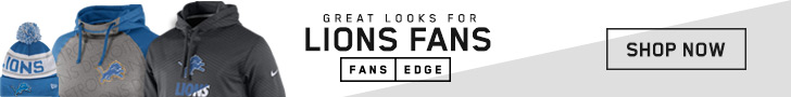 Shop Detroit Lions gear at FansEdge!