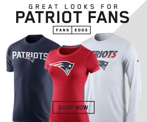 Shop for New England Patriots Team Gear at FansEdge.com