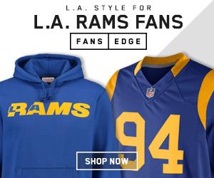 Shop Los Angeles Rams gear at FansEdge.com