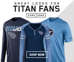 Shop Tennessee Titans gear at FansEdge.com