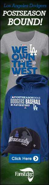 Shop 2013 LA Dodgers NL West Division Champions gear at FansEdge!