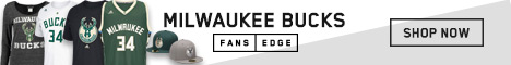 Shop the newest Milwaukee Bucks gear at FansEdge!