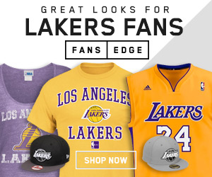 Shop the newest LA Lakers gear at FansEdge!