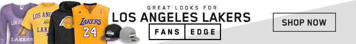 Shop the newest LA Lakers gear at FansEdge!