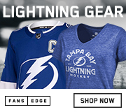 Shop Tampa Bay Lightning Gear