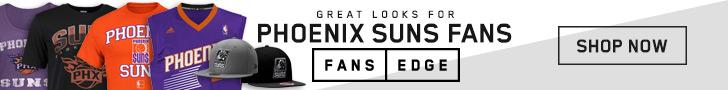 Shop the newest Phoenix Suns gear at FansEdge!