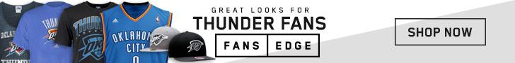Shop the newest Oklahoma City Thunder gear at FansEdge!
