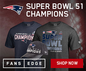 New England Patriots Super Bowl Championship Gear