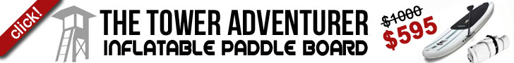Tower Adventurer Inflatable Paddle Board
