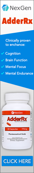 AdderRx is the world's first, cutting-edge, scientifically-engineered Adderall alternative; containing a proprietary blend of powerful energy compounds with nootropic cognitive enhancers.