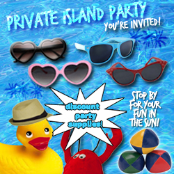 Private Island Party Supplies