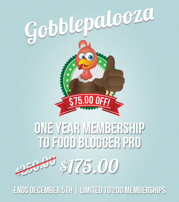 Food Blogger Pro $75 Off – Limited!