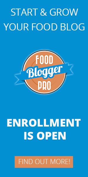 Food Blogger Pro Ad