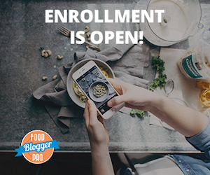 Enrollment is now open for Food Bogger Pro!