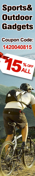 15% OFF Outdoor and Sports Category-Eachmall