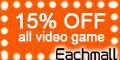 15% all video game accessories