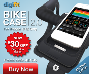 Get $30 Off the Digifit Connect Bike Case for iPhone 3, 4 or 4s