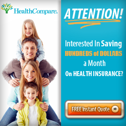 Free Instant Quote at HealthCompare.com!