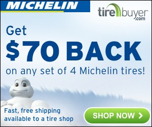 $70 back on Michelin Tires – TireBuyer.com