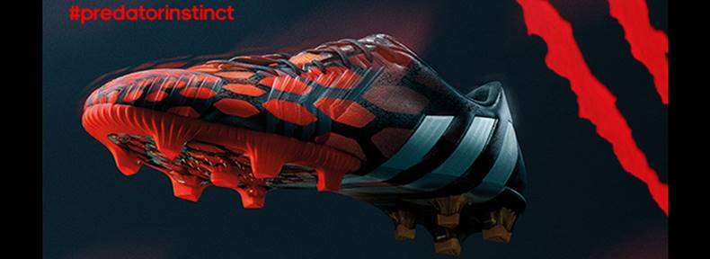 sports shoes efb74 914ec There is only one thing left to discuss after the close of the 2014 FIFA  World Cup  the adidas Predator Instinct. Those were the amazing boots that  were ...