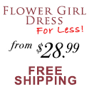 Flower Girl Dress For Less